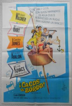 Sail a Crooked Ship, Original Argentinian Movie Poster, Robert Wagner, '61